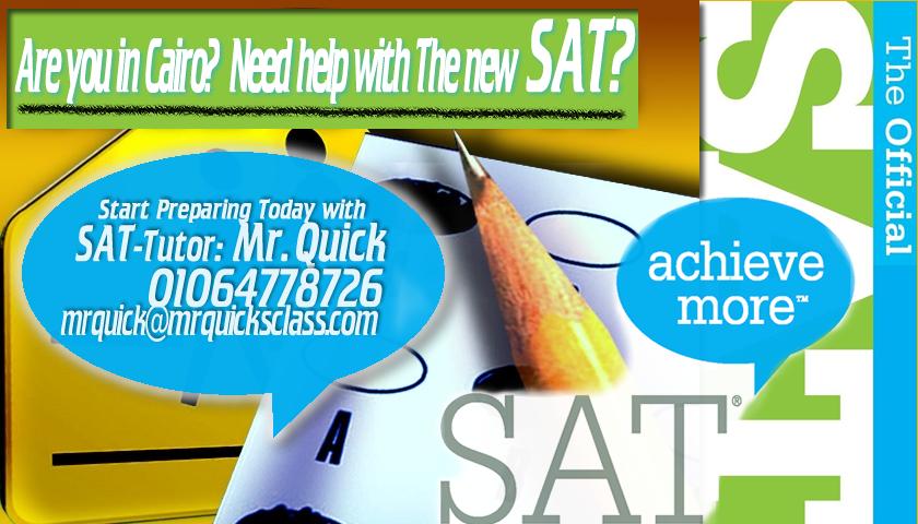 new SAT Preparation Course